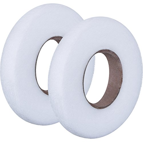 Outus Fabric Fusing Tape Adhesive Hem Tape Iron-on Tape Each 27 Yards, 2 Pack (3/ 8 (Fusing Web)