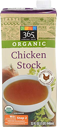 365 Everyday Value Organic Chicken Stock, 32 ()
