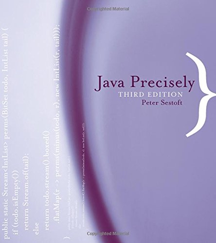 Java Precisely (The MIT Press) by The MIT Press