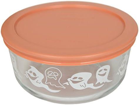 Pyrex 7201 1121152 4 Cup blanco fantasma cuenco de cristal y 7201 ...