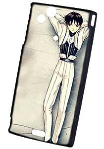 Sony LT18I HARD CASE anime Neon Genesis Evangelion(v051300911)