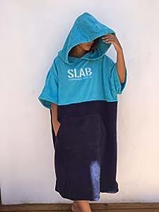 Slab- Poncho Blue Talla M/L
