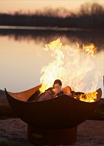 Fire Pit Art Manta Ray Wood Fire Pit (Manta Ray Fire Pit)