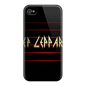 Iphone 6 Nmy5816IUYS Custom Beautiful Def Leppard Pictures Scratch Resistant Hard Phone Cases -MarieFrancePitre