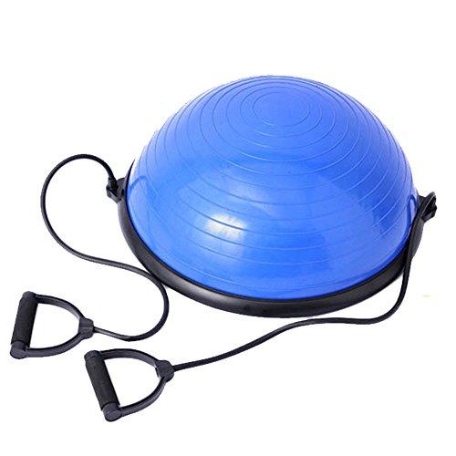 Wave Speed Ball Explosion Bands Drawstring Balanced Hemisphere Semicircle Balance Ball bosu ball yoga fitness semicircular ball by TWENTY_TWO