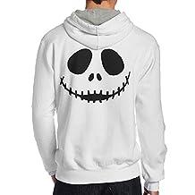 LiyiFF Men's The Nightmare Before Christmas Hoodie Sweatshirt