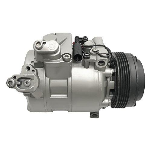 RYC Remanufactured AC Compressor and A/C Clutch GG396 - Bmw 740i A/c Compressor