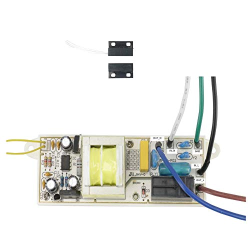 (Awoco Magnetic Switch Controlled Circuit Kit (120V 15A Shutoff Delay) for Air Curtains from Welbon, Pioneer, Maxwell, or Mars (Circuit Kit))