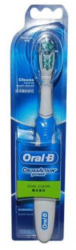 Oral-B Power CrossAction Power Toothbrush (Medium) Manual Toothbrushes at amazon