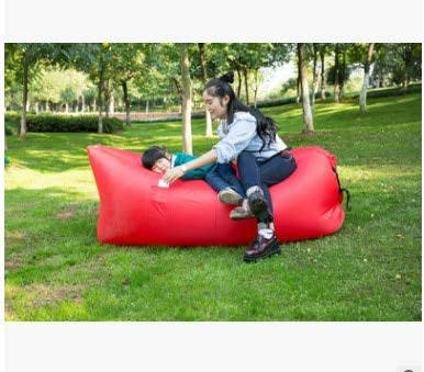 Waterproof Inflatable Sofa Air Bed Lounger Chair Lazy Sleeping Bean Bag Outdoor