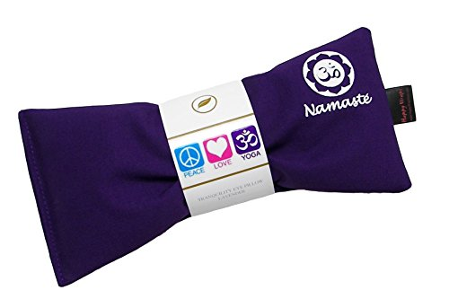 Namaste Yoga Lavender Eye Pillow Purple Set of 4