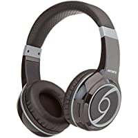 Artiste B1 Bluetooth Headphones with Microphone over Ear Headset Noise Cancelling with Bass Boost for iPhone/iPad/Android Phones/MP3/MP4 and Tablets(Black)