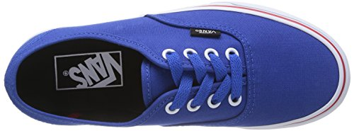 Vans U Authentic - Zapatillas unisex Azul (Princess Blue/Mars Red)