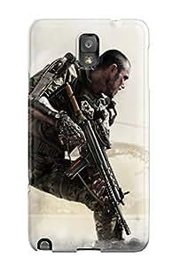 Tpu Case Cover Compatible For Galaxy Note 3/ Hot Case/ Call Of Duty Advanced Warfare