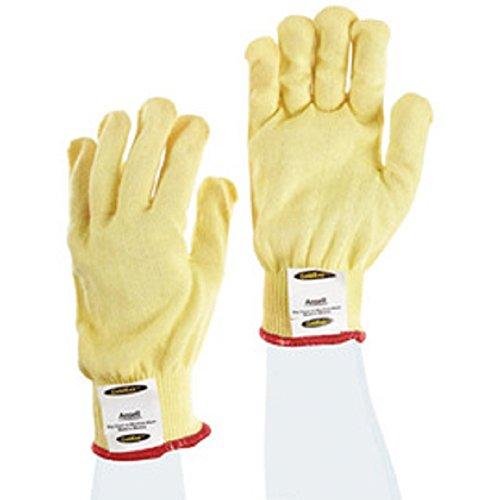 Ansell GoldKnit - Medium Weight - Kevlar String Knit - Cut Resistant Glove - Size 9 (Knit Medium Weight Kevlar String)