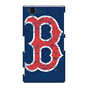 Durable Hard Phone Cases For Sony Xperia Z3 Mini With Allow Personal Design Colorful Boston Red Sox Skin Casesbest88