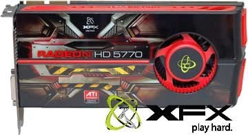 Shop XFX TECHNOLOGIES HD 577A ZNFC XFX HD-577A-ZNFC Radeon HD 5770 1GB 128-bit HD 577A ZNFC Juniper XT