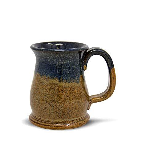 Handmade Stoneware Coffee Mug Copperhead Run Glaze 16oz