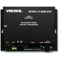 VIKING ELECTRONICS VK-K-2000-DVA / Multi-input Voice Dialer/Annou