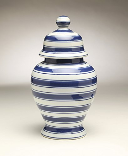 (AA Importing 59960 Blue & White Ginger Jar)
