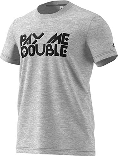 3b7ef4297ba adidas Pay Me Double Graphic Tee
