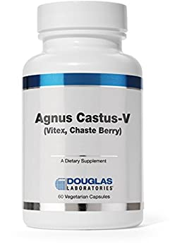 Douglas Laboratories® - Agnus Castus-V, Vitex (Chasteberry) Supplement - Supports Female Reproductive Health and Hormonal Balance* - 60 Capsules
