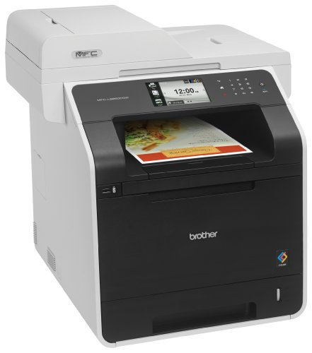 Brother Printer MFC-L8850CDW Wireless Color Laser Printer with Scanner, Copier and Fax, Amazon Dash Replenishment Enabled by Brother (Image #2)