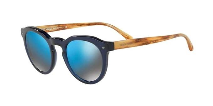 Armani 0AR8093, Gafas de Sol para Hombre, Transparente Blue ...