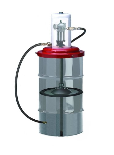 High Pressure Lubrication Pump for a 120lb(16 Gallon) Refinery Drum for Installed Lube Applications (Pump Drum Pneumatic)
