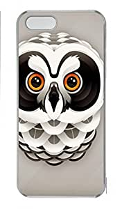 DIY Skin Case for iPhone 5C Plastic Case Back Cover for iPhone 5C With Cool Owl