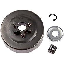 Hicello Clutch Drum Sprocket 3/8 6T Washer E-clip for STIHL MS170 MS180 017 018 025