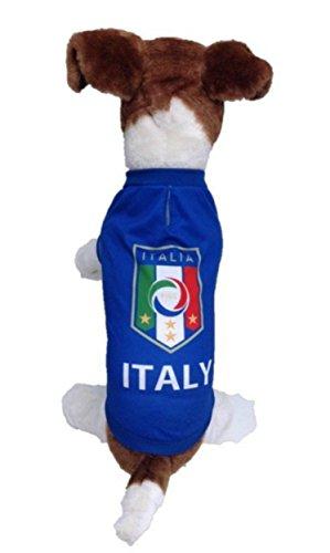 My Pet Boutique Dog soccer jersey Italy (Medium) -