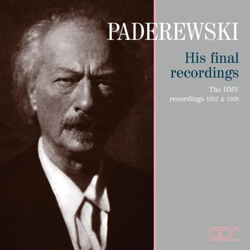 Paderewski-His Final Recordings