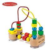 Melissa & Doug First Bead Maze (Developmental Toys, Wooden Educational Toy, Quality Craftsmanship & Sturdy...