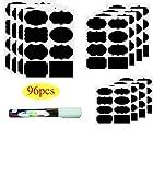 Chalkboard Labels | 96pcs Waterproof Reusable