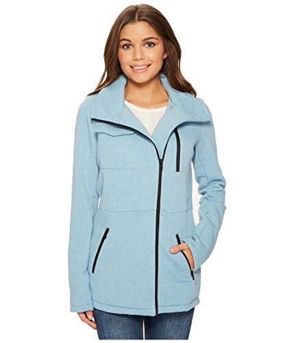 Hurley Women's Winchester Fleece Jacket Cerulean Heather Medium