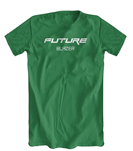 Future Blazer T-Shirt, Men's, Kelly Green, (Mens Kelly Green Blazer)