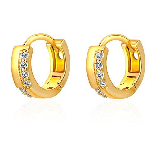 IPINK Plated Zirconia Flawless Earrings product image