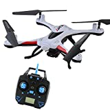 JJRC H31 Waterproof Headless RC Quadcopter Drone with Camera,2.4G 4CH 6Axis 360°Rolling Action 3D CF One Key Return Quadcopter RTF with LED Light for Night Flight (White)