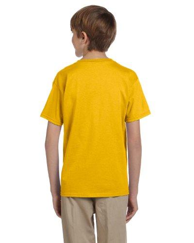 Jerzees Boys HiDENSI-T T-Shirt(363B)-Gold-XS