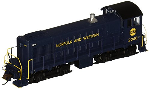 Bachmann Industries Alco S4 Norfolk and Western #2046 - DCC Ready Diesel Locomotive - HO Scale