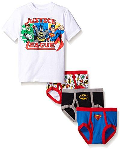 DC Comics Boys Justice League 3pk Underwear and Tank Set