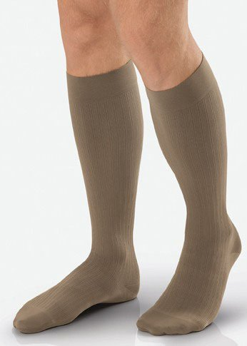 BSN Medical 7766402 JOBST Sock, Knee High, 30-40 mmHg, Size 3, Long, Black ()