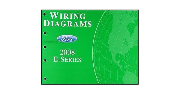 2008 ford econoline van & club wagon wiring diagram manual original: ford:  amazon com: books