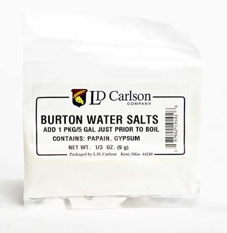 LD Carlson 6102a Burton Water Salts - 1/3 oz. Bag