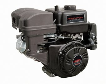 Price comparison product image Predator 14 HP 420cc OHV Horizontal Shaft Gas Engine - Certified for California; Fuel Shut Off and Recoil Start