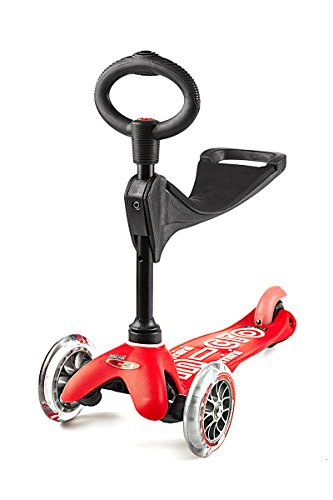 Micro Kickboard (Micro Mini 3in1 Deluxe Kick Scooter (Red))