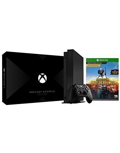 Xbox One X Project Scorpio PUBG Bundle: Xbox One X 1TB Project Scorpio Console and PlayerUnknown's Battlegrounds