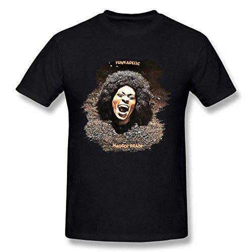 Kazzar Men's Funkadelic Maggot Brain T Shirt (Funkadelic T Shirt)
