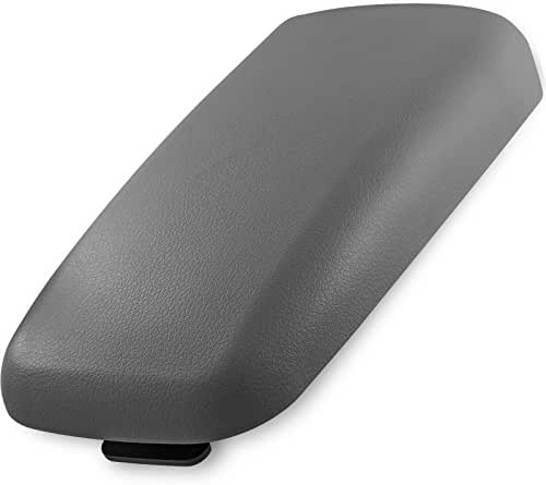 OxGord Center Console Lid Kit for GM Chevy, Buick, Isuzu, SAAB, Oldsmobile Vehicles - Replaces 25998838 - Gray